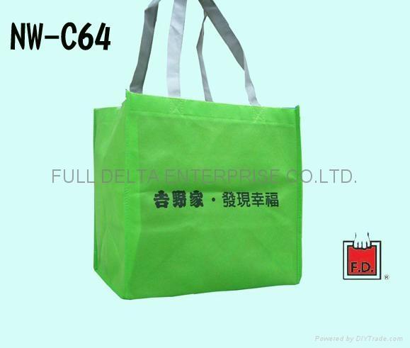 不織布立體環保袋