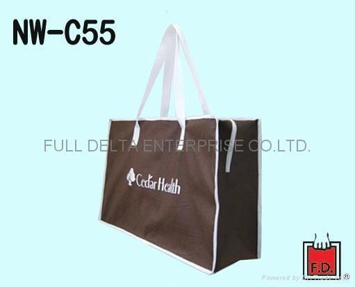 不織布環保購物袋 ( 寵物飼料業者 )