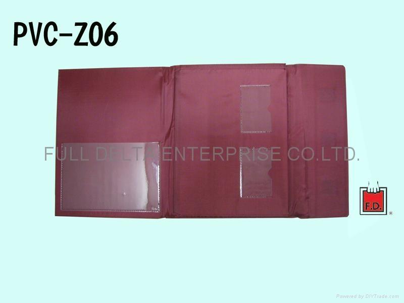 Paper file holder / document holder / file pocket