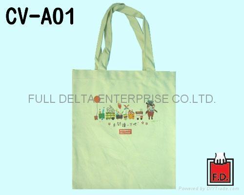 平面帆布环保袋 / 帆布赠礼品袋