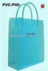 PVC tube handle PVC bag