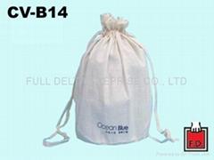 Cotton String-drawn Bag