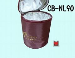 Nylon tubular cooler bag