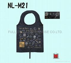 尼龙收纳环保购物袋 ( 月饼食品业者 )