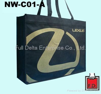 立体型不织布环保购物袋 ( 汽车业者 )