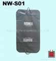 Non woven garment Bag/ suit cover bag