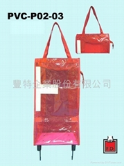 PVC Foldable Trolley bag
