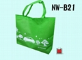 PP non woven shopping bag with Bottom gusset