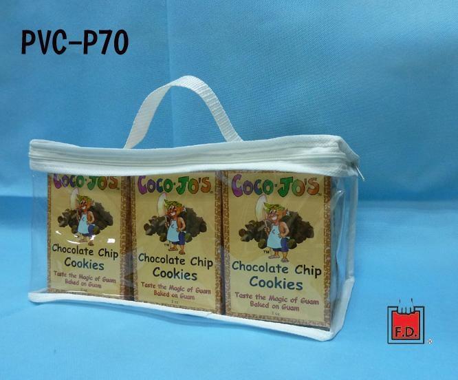 PVC隨行手提袋 ( 咖啡豆/巧克力/餅乾業者 )