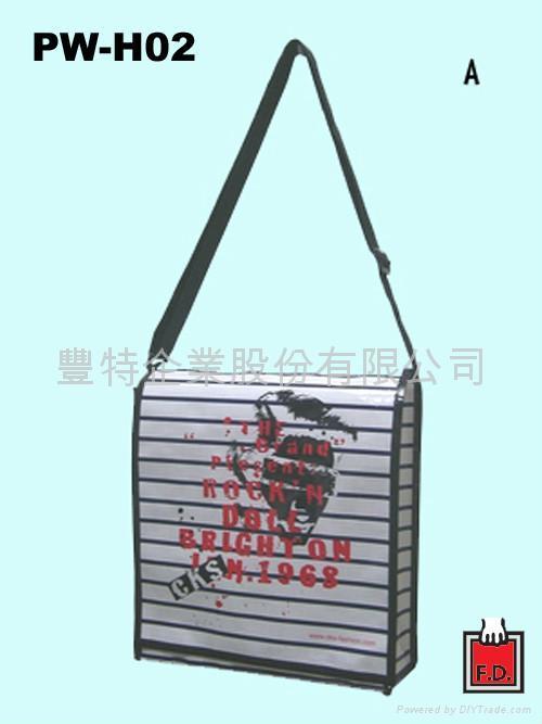 書包型編織環保袋