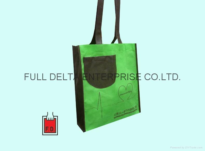 不织布立体环保袋(餐饮业)