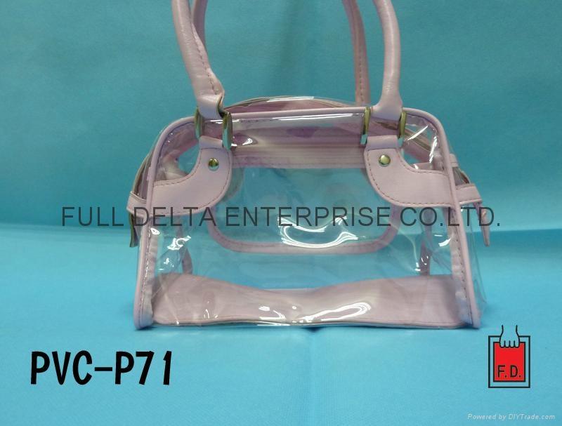 PVC lady bag