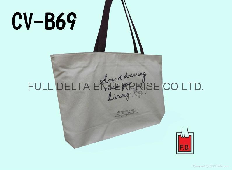 底型帆布环保袋 / 帆布赠礼品袋 (服饰业者)