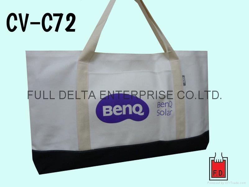 帆布環保購物袋 / 贈禮品袋 (3C 科技業者)