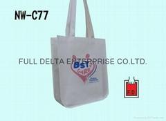 不織布立體環保袋(養生雞湯業者)