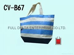 底型帆布环保购物袋 (赠礼品袋)
