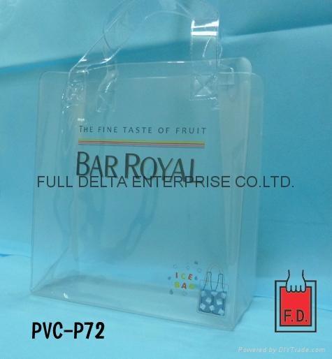 PVC赠礼品袋 / 酒袋 / 冰桶袋