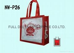 OPP彩印膜不織布袋 (運動品牌)