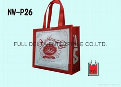 OPP彩印膜不织布袋 (运动品牌)