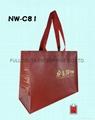 不織布立體環保購物袋 (食品購