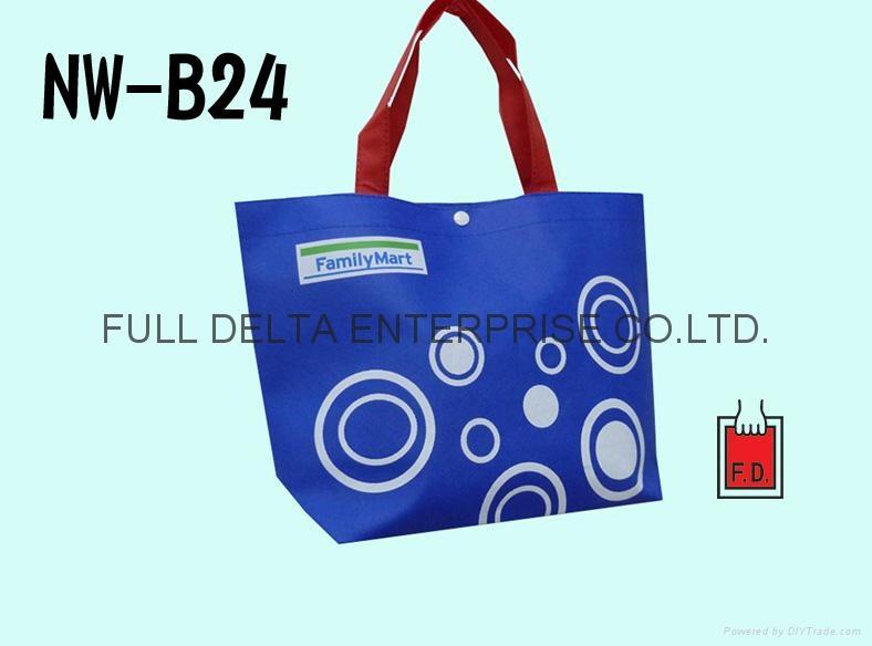 不织布底型环保购物袋(便利商店)