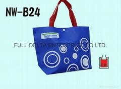 不織布底型環保購物袋(便利商店)