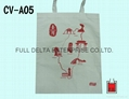 平面帆布環保袋/帆布贈禮品袋