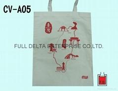 平面帆布环保袋/帆布赠礼品袋