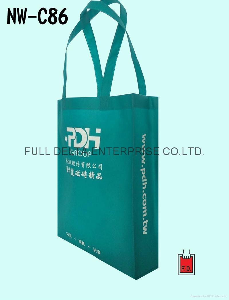 不织布立体型环保购物袋/赠礼品袋(磁砖/装潢业者) 1