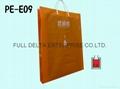Plastic bag with Rigid Handle