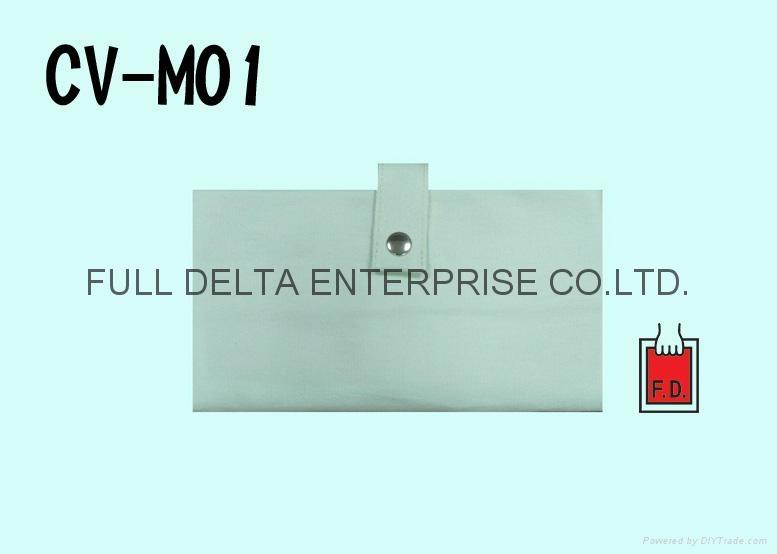 帆布收纳环保购物袋 / 赠礼品袋Cotton Foldable Bag with button 2