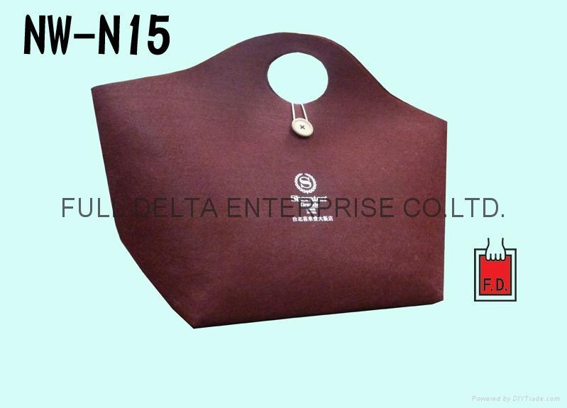針扎棉環保購物袋/贈禮品袋 (飯店業者) 1