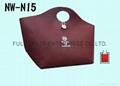 針扎棉環保購物袋/贈禮品袋 (
