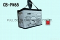 Woven cooler bag for food