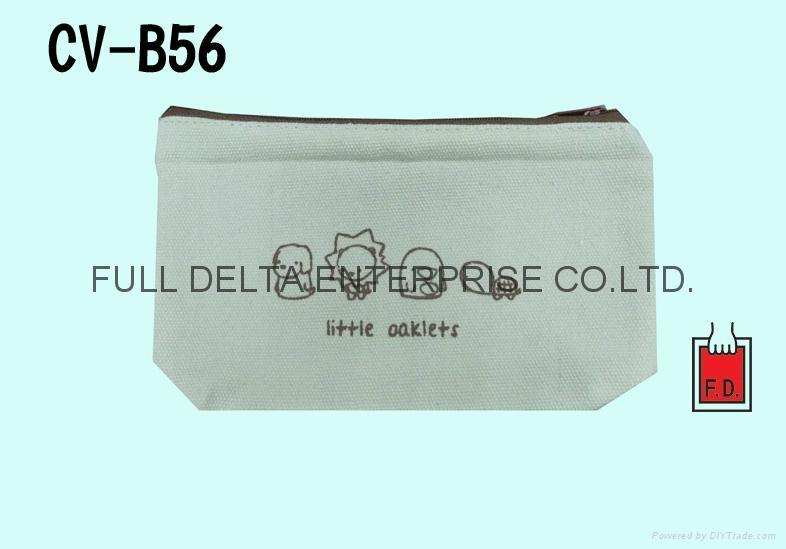帆布铅笔袋/化妆包/赠礼品袋 1