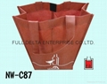 不織布立體環保購物袋/分隔酒袋  2