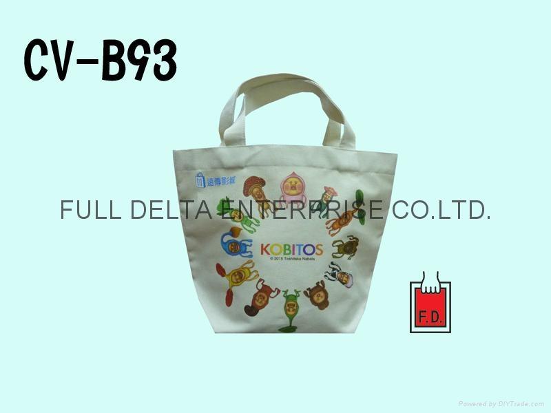 帆布环保购物袋/赠礼品袋(便利超商/影城业者) 1