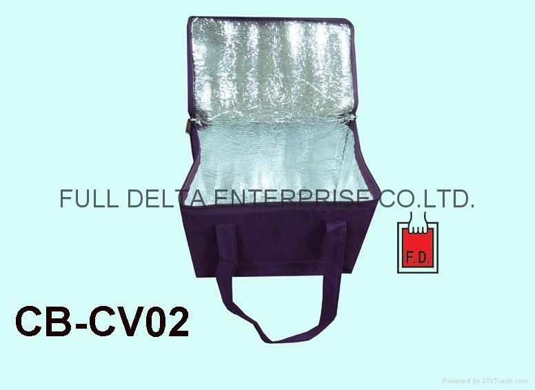 植絨布保溫袋 ( 餐廳飯店業/端午節粽子袋 ) 2