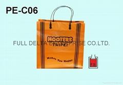 塑胶条提袋/手把袋(餐厅业者)