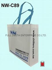 不织布立体型环保袋/赠礼品袋