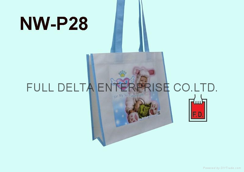 彩色印刷不織布袋(嬰兒用品業者) 1