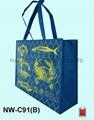 不织布立体环保袋/赠礼品袋(渔会) 2
