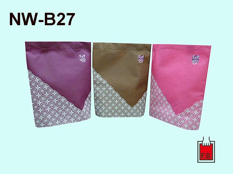 不织布立体型环保袋/赠礼品袋 2