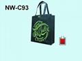 不織布立體環保購物袋/贈禮品袋