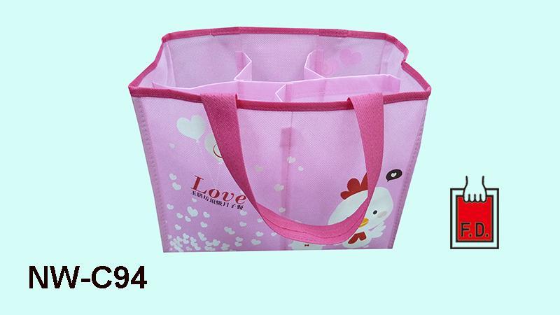 造型不织布环保袋/分隔袋(月子餐/月子中心) 2