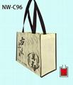 不織布立體型環保袋/贈禮品袋
