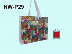 彩色印刷不織布購物環保袋(飯店業者)
