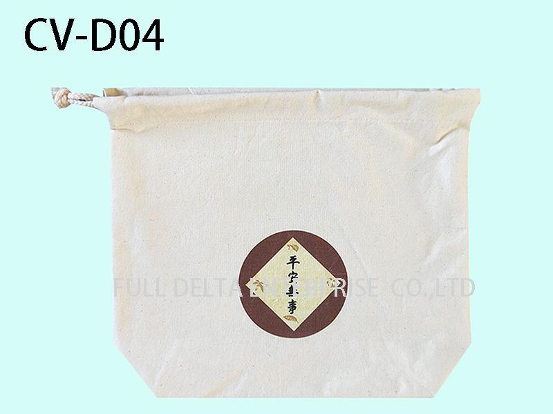 棉胚布串繩袋 1