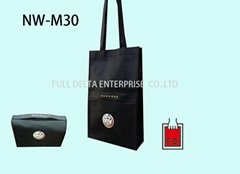 Non woven Foldable Bag with button