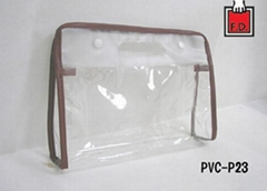 PVC / EVA die cut bag